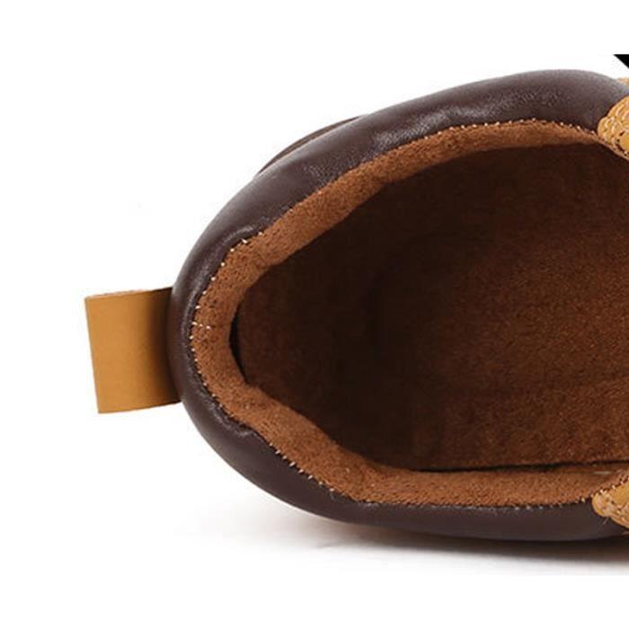 Hommes Martin Bottes En Cuir Sport Mâle Travail Chaussures Haute Qualité Confortable Automne Hiver Daim Classique Bottine De Travail qUEEcMc2