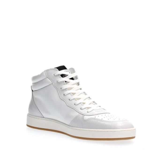 PHILIPPE MODEL PARIS SNEAKERS Homme WHITE, 42