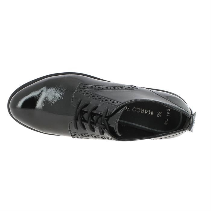chaussures a lacets 23730 femme marco tozzi 23730