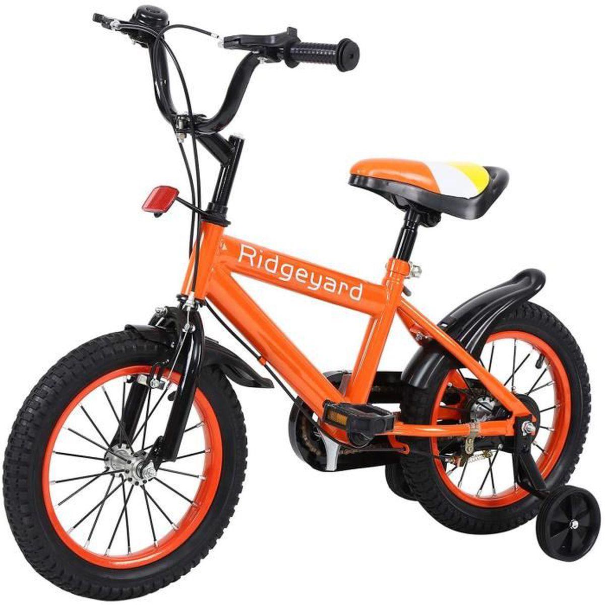 TRICYCLE Ridgeyard 14 Pouces Vélo 3 à 8 Ans Enfant Étude d'