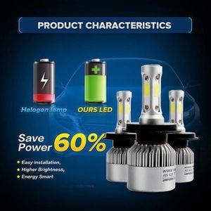 PHARES - OPTIQUES WDD70710284®110W H7 COB LED 16000LM voiture Auto P