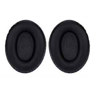 CASQUE AVEC MICROPHONE Coussinets de rechange noir Pads oreille Coussins
