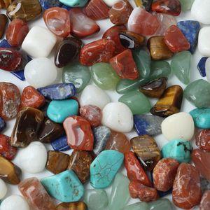 PERLE - BILLE - GRAVIER 1saco 100g coloré mixte forme irrégulière pierres
