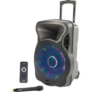 ENCEINTE ET RETOUR PARTY LIGHT & SOUND PARTY-15LED Enceinte portable