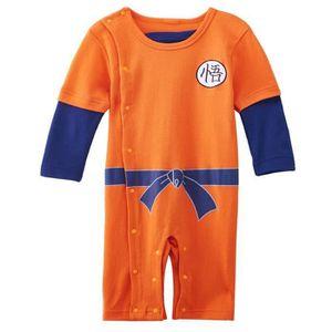 DÉGUISEMENT - PANOPLIE Vêtements de bébé Garçon Dragon Ball Goku Cosplay