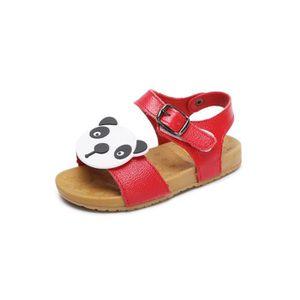 a5b6a0cb2f5 Enfant Sandales Bébé Garçons fille Panda Chaussures pour enfants ...