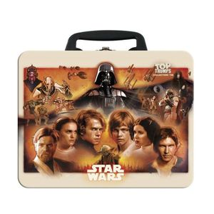 CARTE A COLLECTIONNER Star Wars Top Trumps Collectors Tin