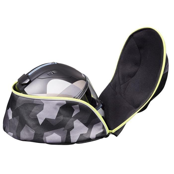 BAGSTER Sac à dos moto - Camo Helmet - noir camouflage
