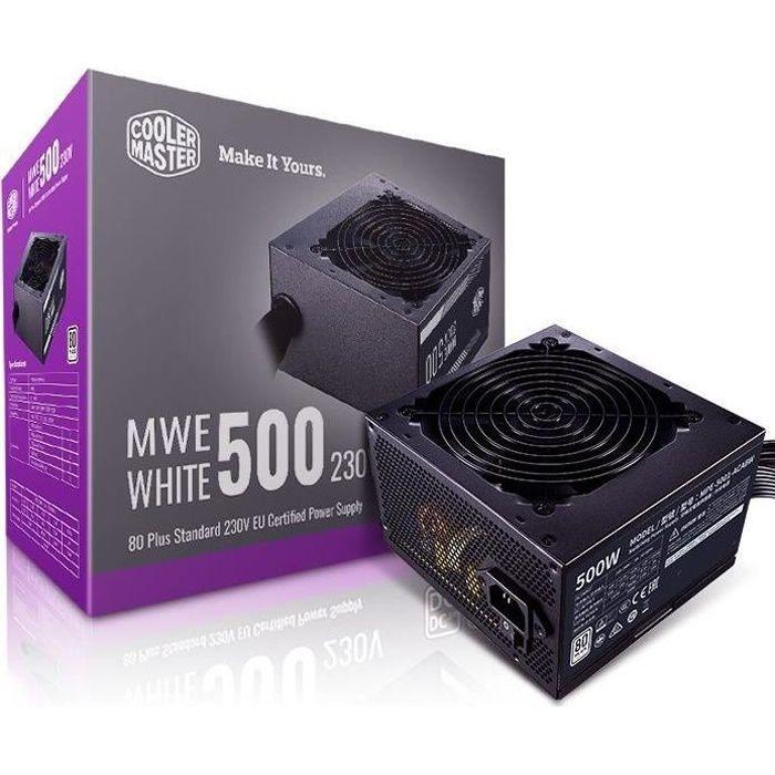 COOLER Master MWE White V2 500W 80