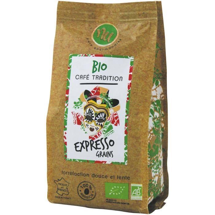 NU Café Bio Expresso Italien Grain Sachet 125g