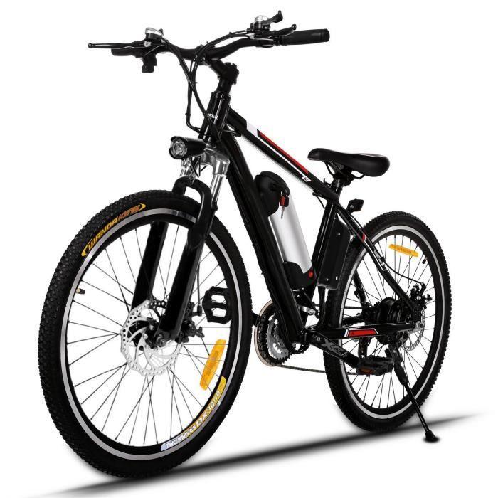 VÉLO ASSISTANCE ÉLEC Vélo électrique de montagne roues de 26 pouces jan