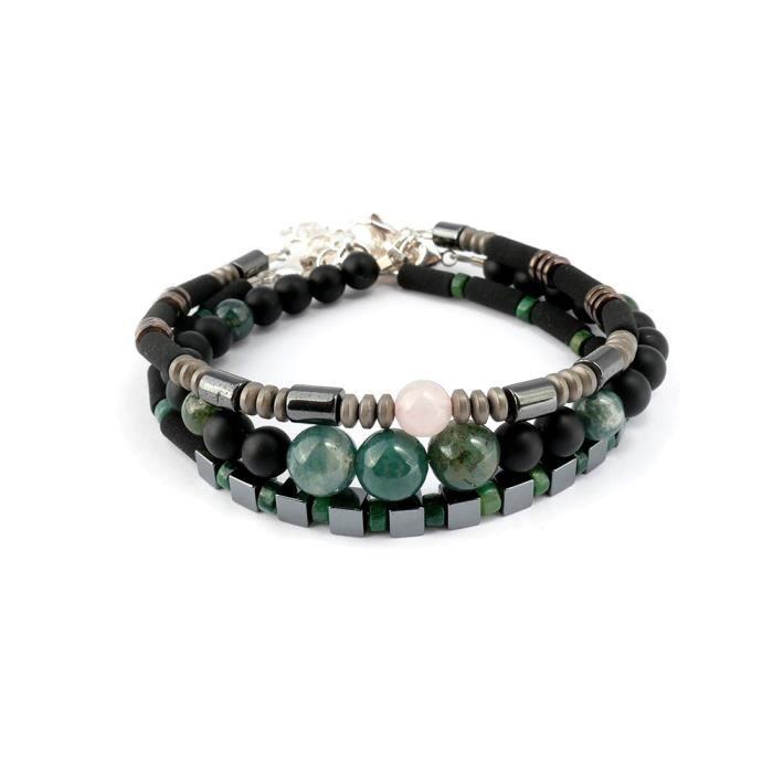 Bracelets Perles De Homme Vente Verte Achat Pour Harmonie OuXiPkZ