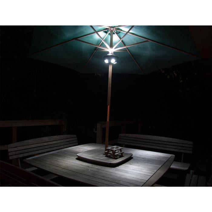 lampe led pour parasol achat vente lampe led pour. Black Bedroom Furniture Sets. Home Design Ideas