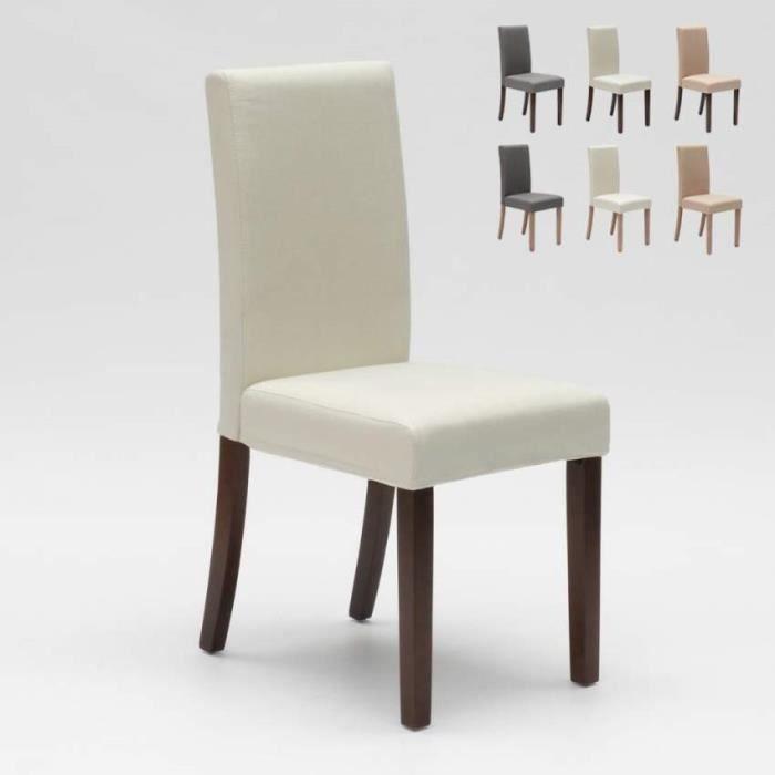 Chaise Rembourree Style Henriksdal En Bois Pour Salle A Manger Comfort