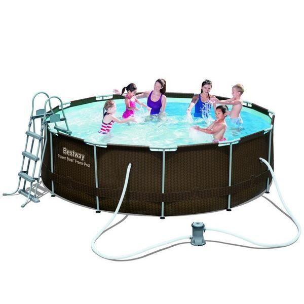 piscine tubulaire tressee