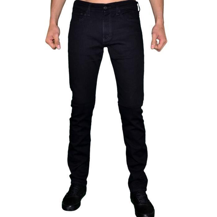 f05beb3da Levis - Jean - Homme - 511 Slim Fit Stretch Moonshine - Noir Noir ...