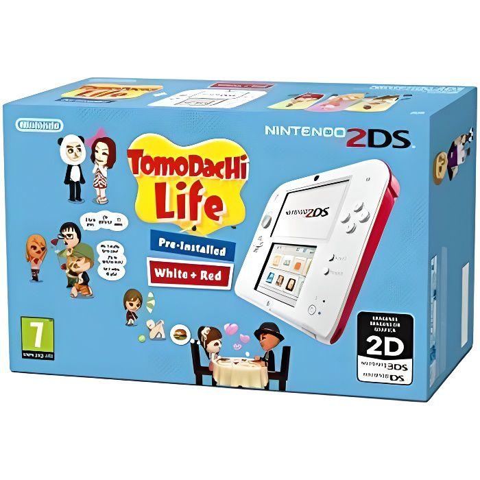 Pack console 2ds blanche jeu tomodachi life pr achat vente console 2ds pack console 2ds - Console 3ds xl blanche avec mario kart 7 ...