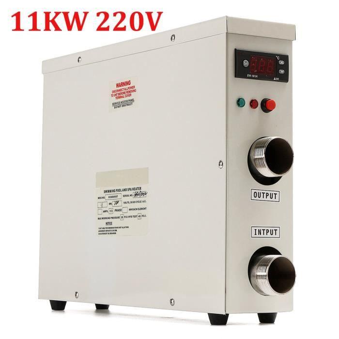 Tempsa 11kw 220v Piscine Spa Thermostat Réchauffeur Baignoire