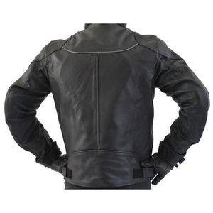 blouson cuir moto achat vente blouson cuir moto pas. Black Bedroom Furniture Sets. Home Design Ideas