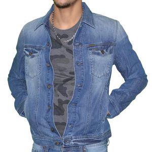 Veste en jeans homme diesel