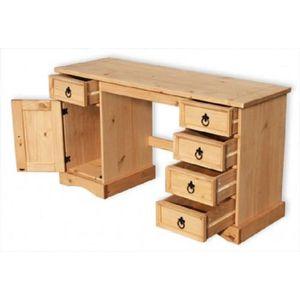 Bureau enfant en bois massif Achat Vente Bureau enfant en bois
