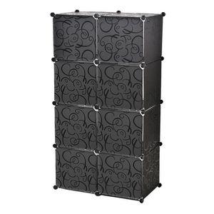 meuble de rangement en plastique achat vente meuble de rangement en plastique pas cher. Black Bedroom Furniture Sets. Home Design Ideas