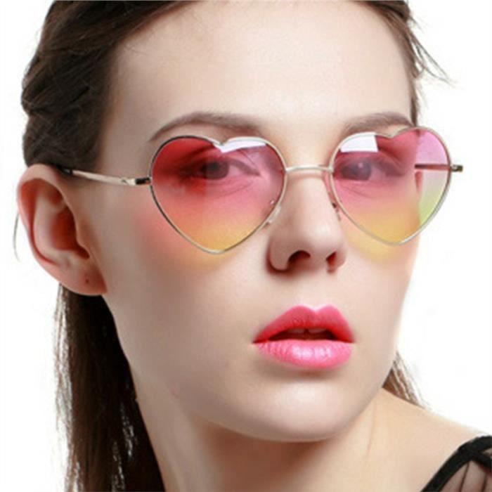 8ca176946bd13 ... Vbiger Hommes Femmes mode dégradé de couleur Lunettes de soleil avec  coussinets doux nez ...