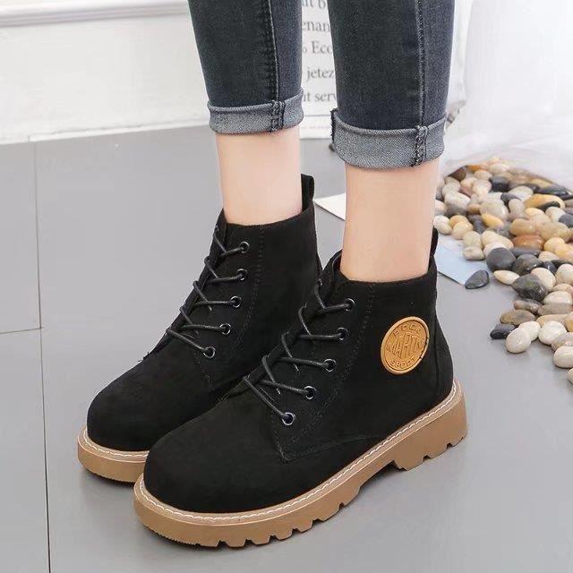 cheville Martin bottes pour les femmes à lacets bottes bottes de mode décontractée