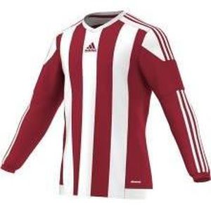 ADIDAS Maillot de Football Striped 15 Rouge / Blanc