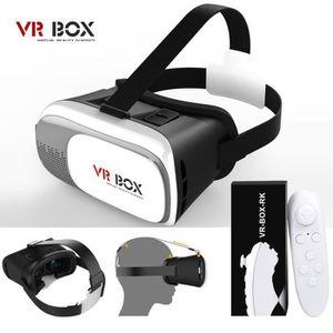 LUNETTES 3D Universel 3D Réalité Virtuelle VR Box lunettes Cas