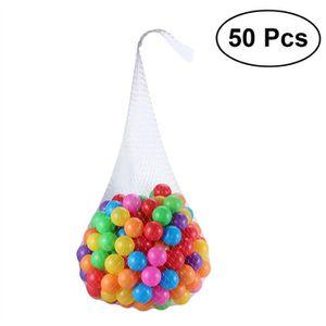 BALLE DE JONGLAGE 50 pcs boules en plastique de fosse de boule écras