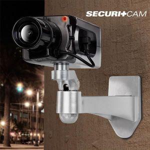CAMÉRA FACTICE Caméra de surveillance factice - détecteur de mouv