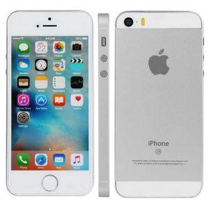 TÉLÉPHONE FACTICE IPHONE SE TÉLÉPHONE de Démonstration (Silver)
