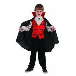 DÉGUISEMENT - PANOPLIE Costume Enfant Vampire Taille 5-6 ans (S) f7d9417e5435