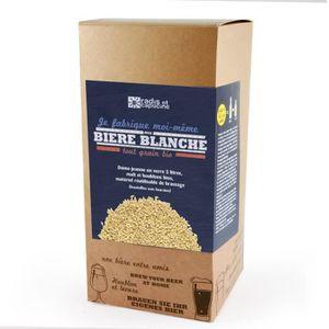 BIÈRE Coffret brassage tout grain 5L Bière blanche bio 3