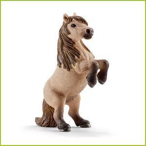 FIGURINE - PERSONNAGE SCHLEICH 13775 Figurine Mini Hongre Poney Shetland