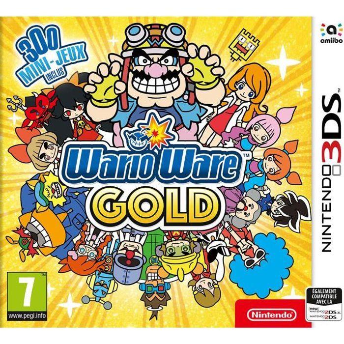 JEU 3DS WarioWare Gold Jeu 3DS