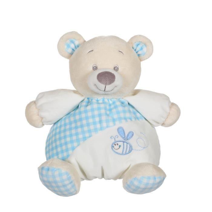 GIPSY Mon Rondoudou Bleu 22 cm - Garçon et Fille - A partir de la naissancePELUCHE