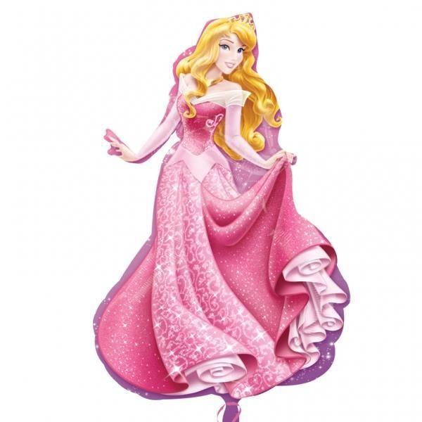 Ballon alu forme de princesse aurore la belle au bois dormant 58x86 cm achat vente ballon - La belle princesse ...