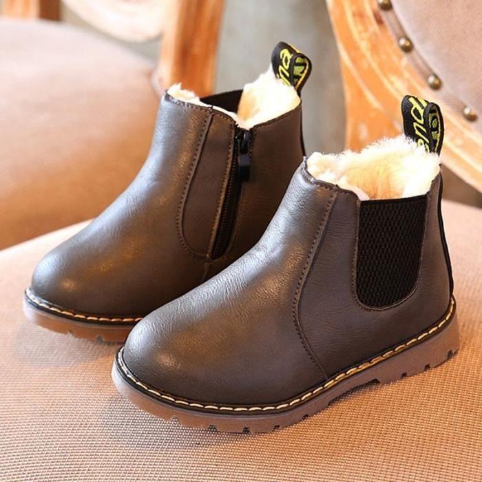89869e1c0d9a3 EUR 24 Hiver Enfants enfants Martin Bottes Neige Bébé Chaussures ...