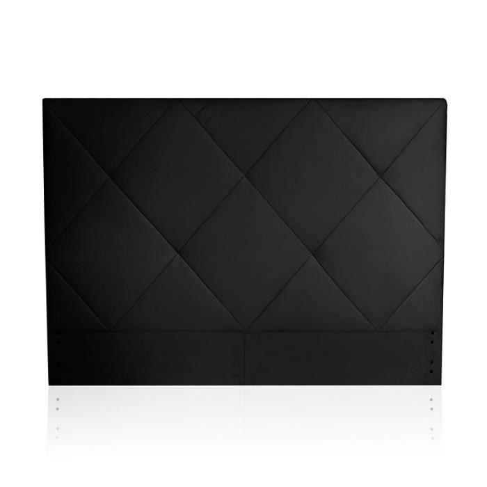 t te de lit design noir clara achat vente t te de lit soldes d s le 10 janvier cdiscount. Black Bedroom Furniture Sets. Home Design Ideas