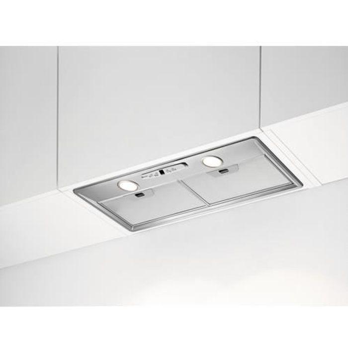 HOTTE Electrolux Hotte intégrée, 600 m³-h, D, A, C, 63 d