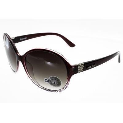 36fed3171c8d27 LOUBSOL BAHIA Mauve Femme Indice 3 Mauve - Achat   Vente lunettes de ...