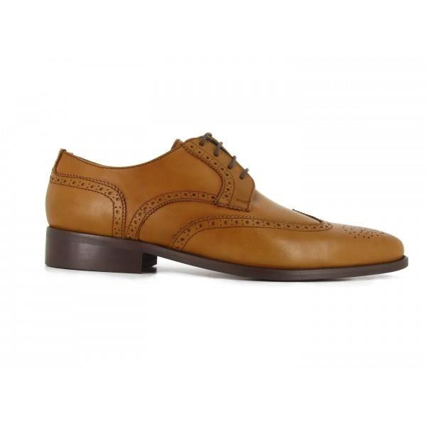 DERBY J.BRADFORD Chaussures Derby JB-ALAIN Camel - Coule