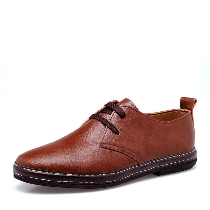Chaussures Derby cuir Homme chaussures habillée...