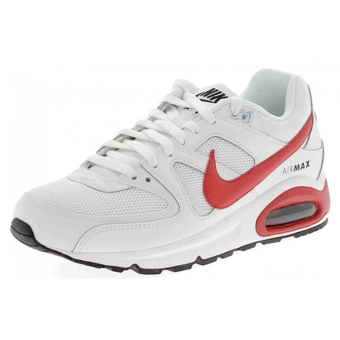 best service 740c1 13a65 Nike - Nike Air Max Command Chaussures de Sport Homme Blanc