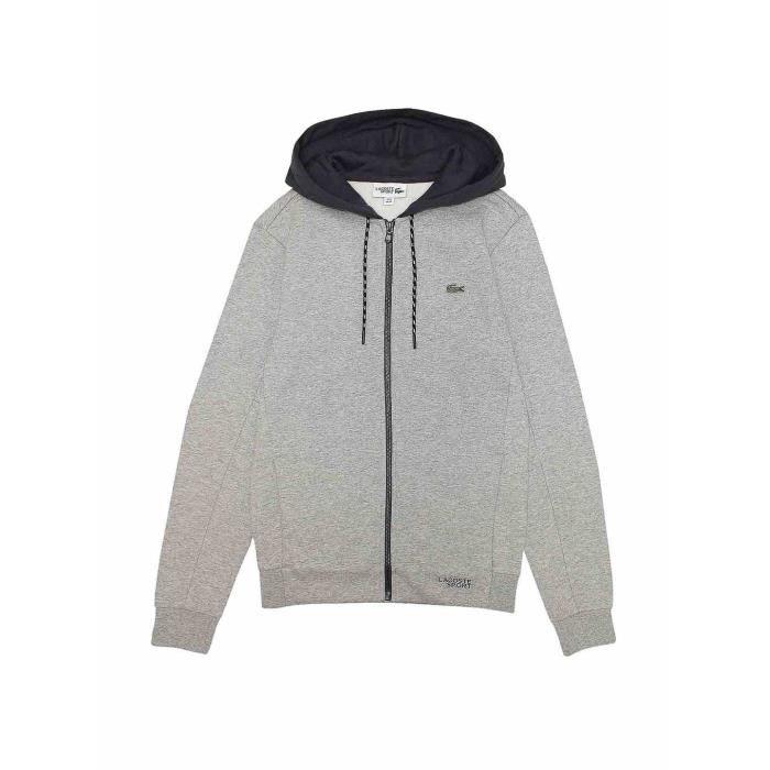 Achat Vente Sport Sh9491 Sweatshirt Gris Lacoste Sweat OwyvmNn08