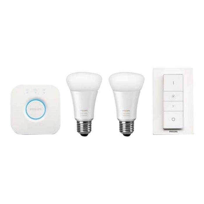 3 Froide De Philips E27 Lumière Blanche Ambience Douce… Lumières Fil Ampoule Kit Led 9 Starter W Sans 5 Hue X White Jeu qMpUVSz