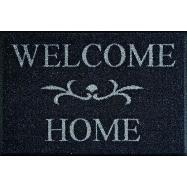 Tapis Design Welcome Home Anthrazit Achat Vente Tapis Cdiscount