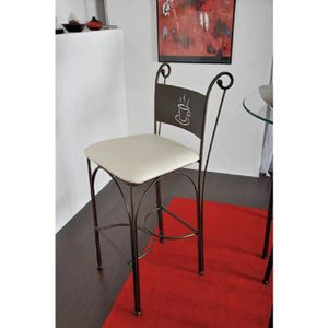Chaise fer forge achat vente chaise fer forge pas cher for Chaise haute fer forge